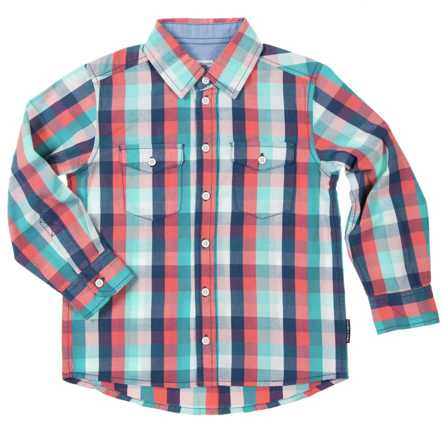 Baby boy`s checked shirt