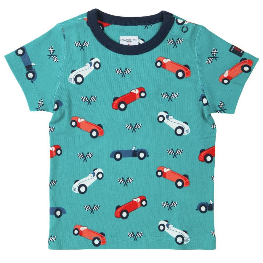 Baby boy`s car t-shirt