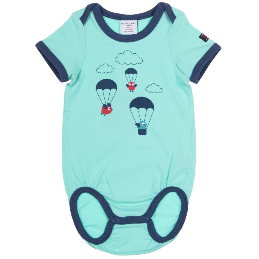 Baby boy`s balloon bodysuit