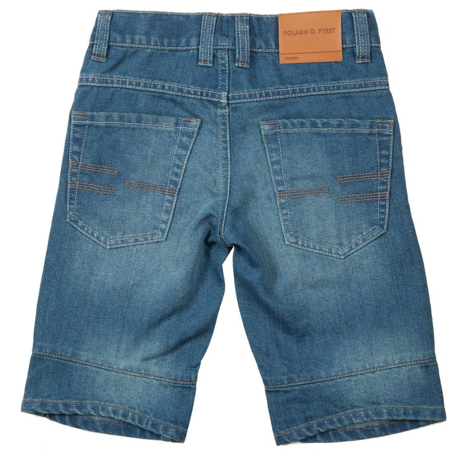 Kid`s 3/4 length denim shorts