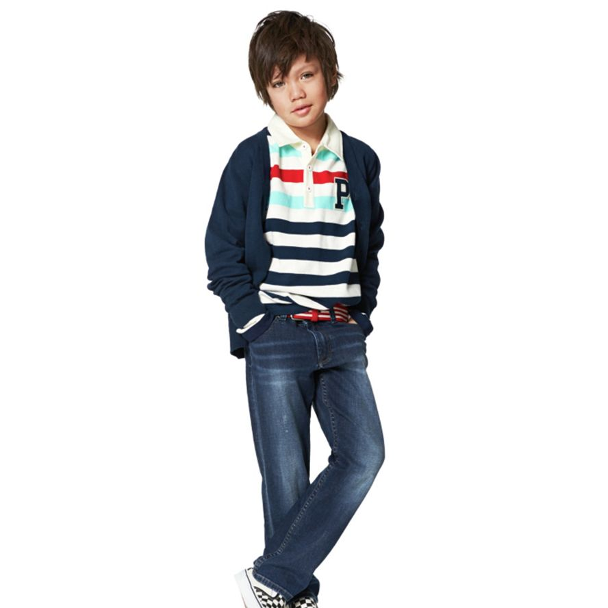 Boy`s knitted cardigan