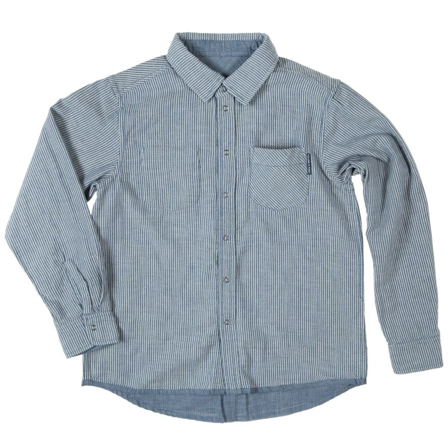 Boy`s reversible soft cotton shirt