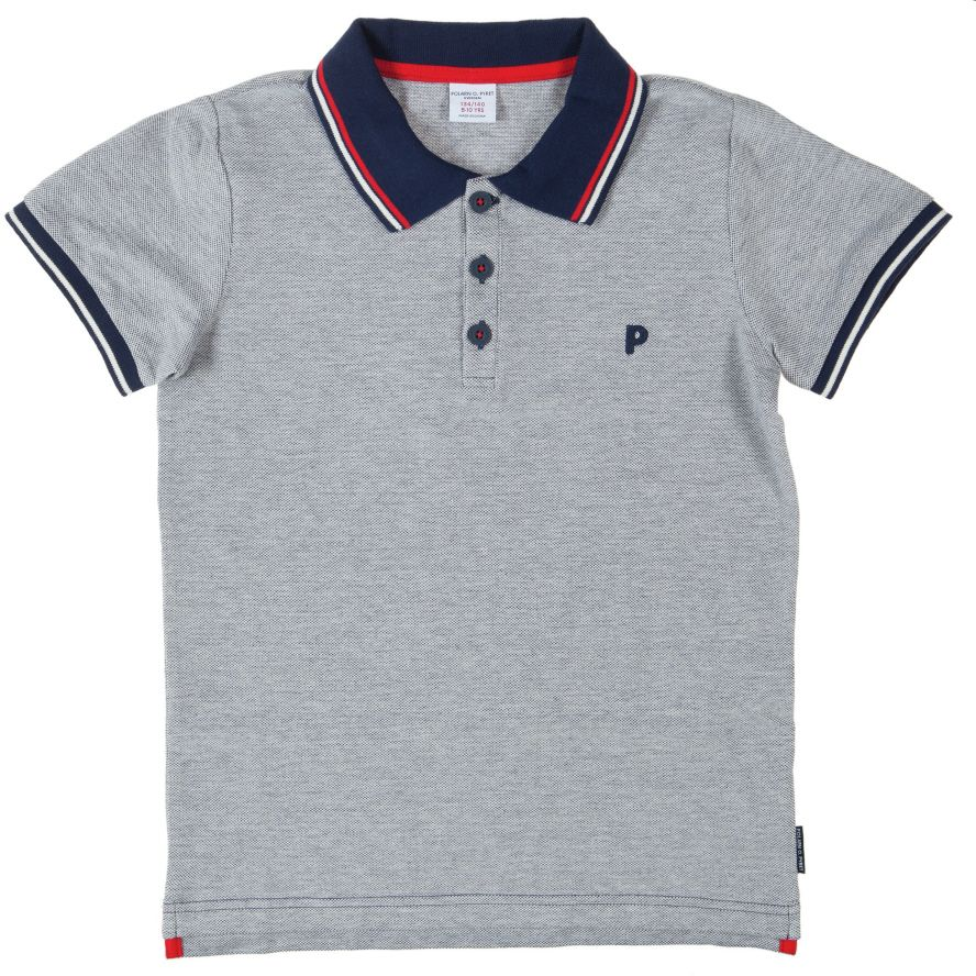 Boy`s short sleeve cotton polo shirt