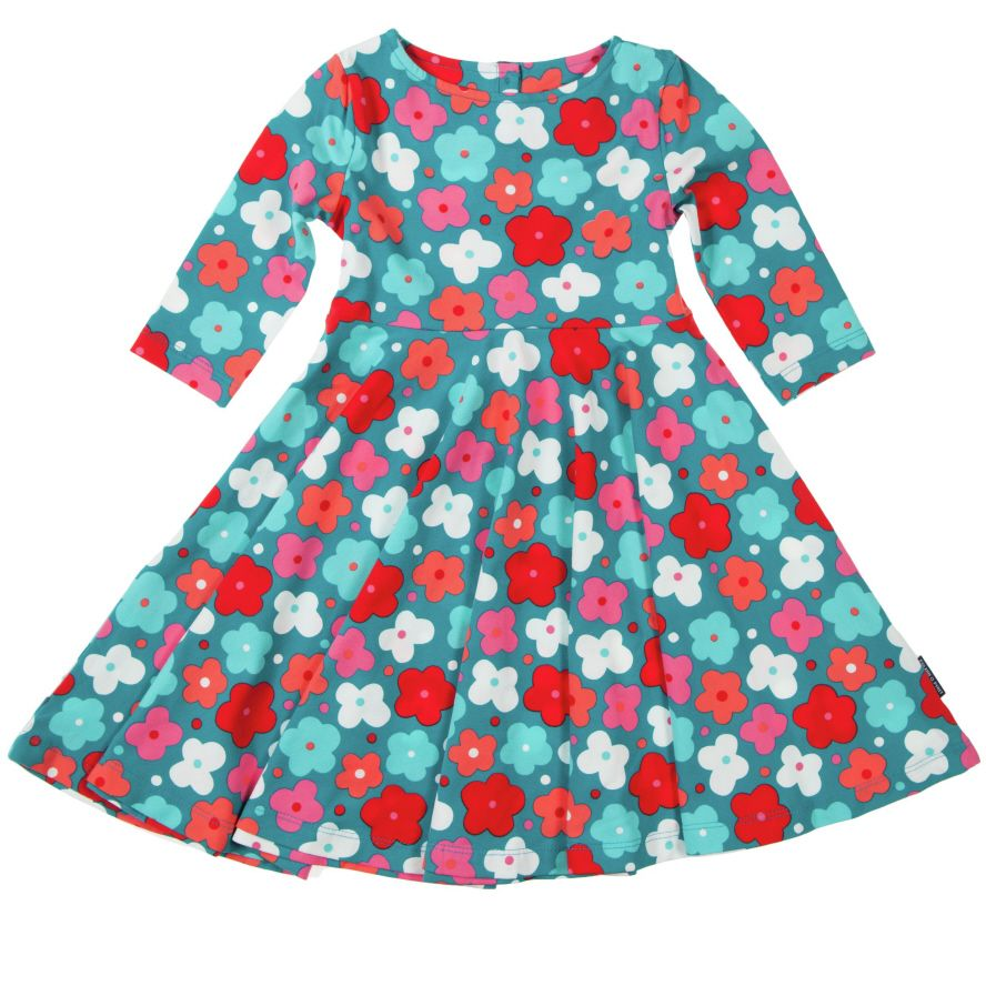 Baby girl`s flower dress