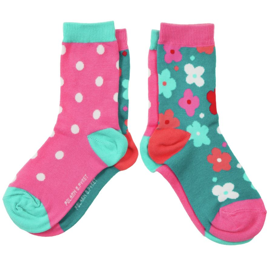 Girl`s 2 pack of socks