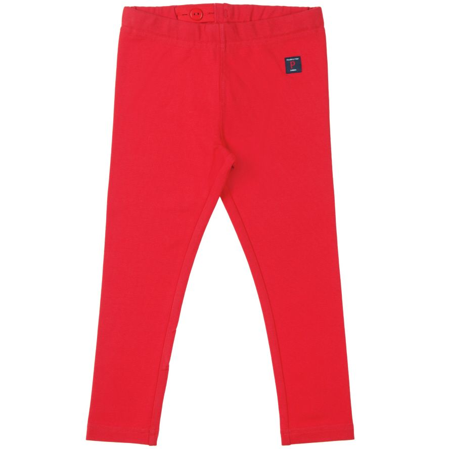 Girl`s organic cotton leggings