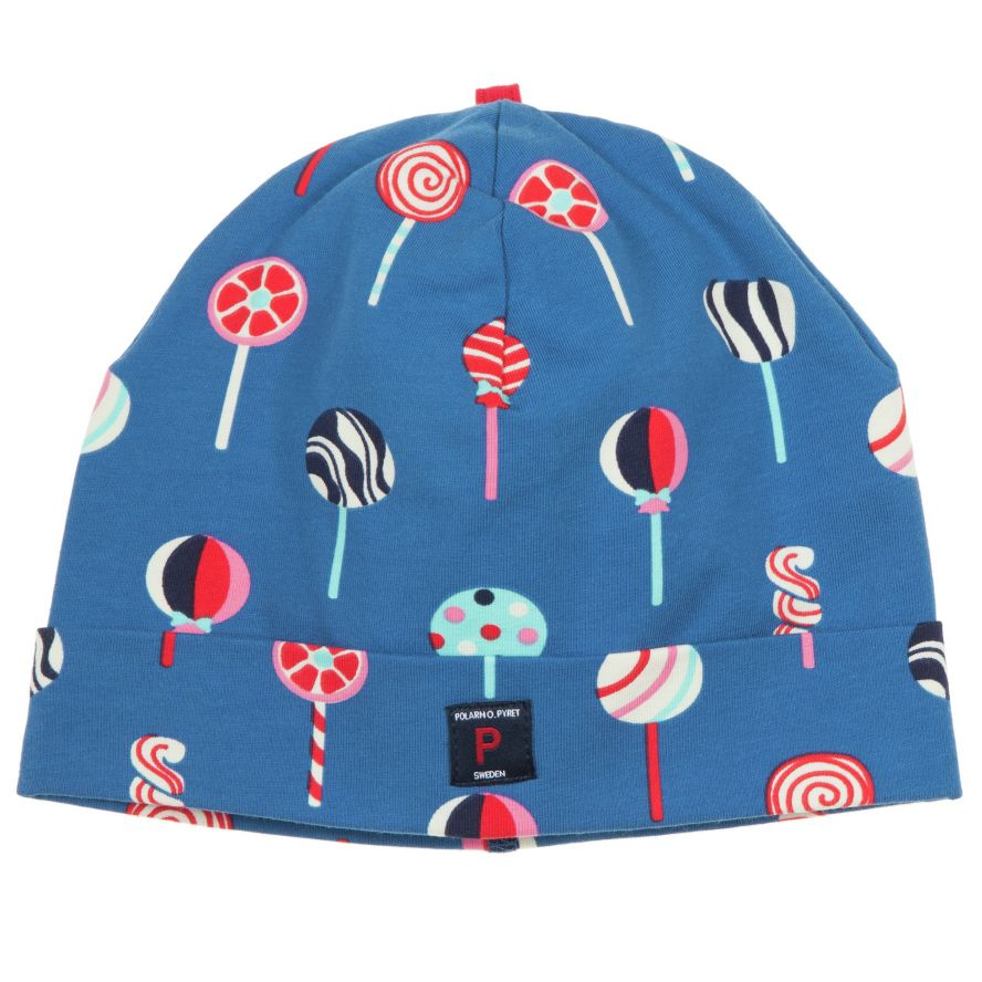 Kid`s ice lolly print beanie hat