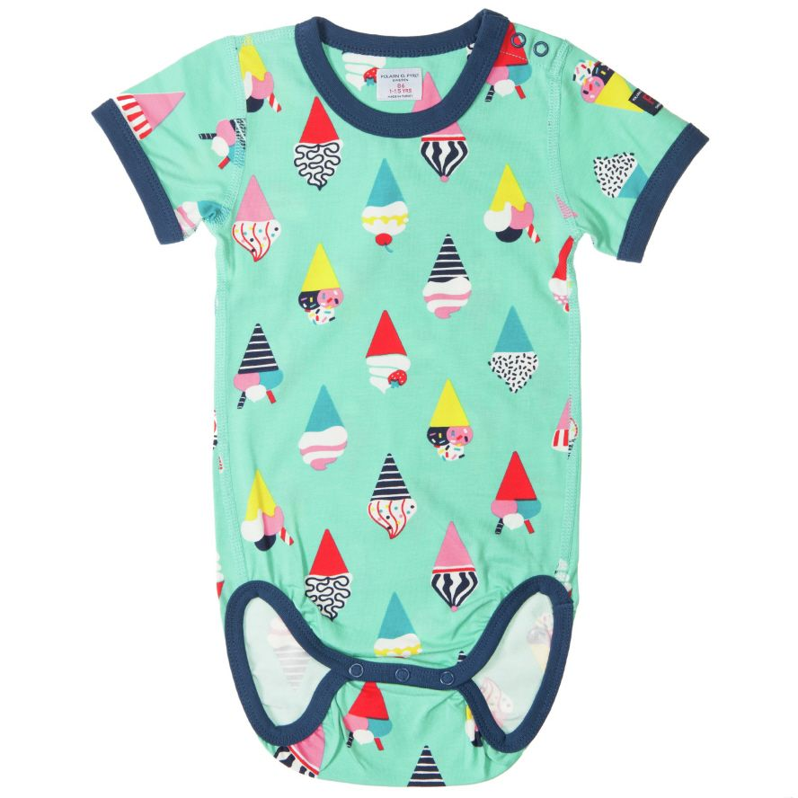 Baby`s icecream print bodysuit