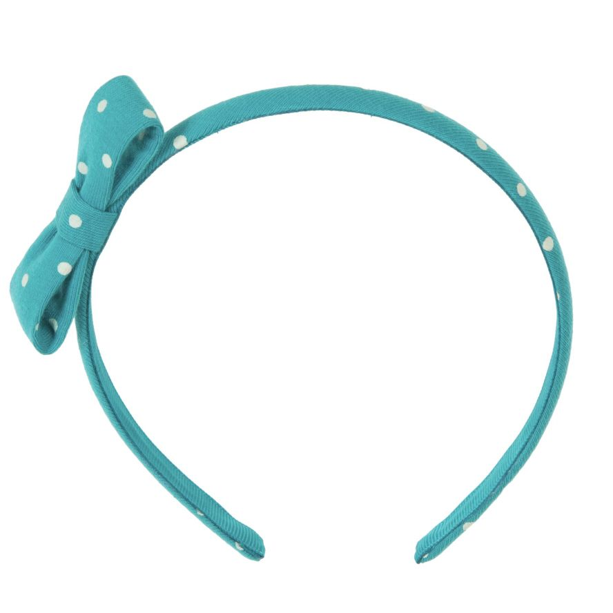 Girl`s spotted headband
