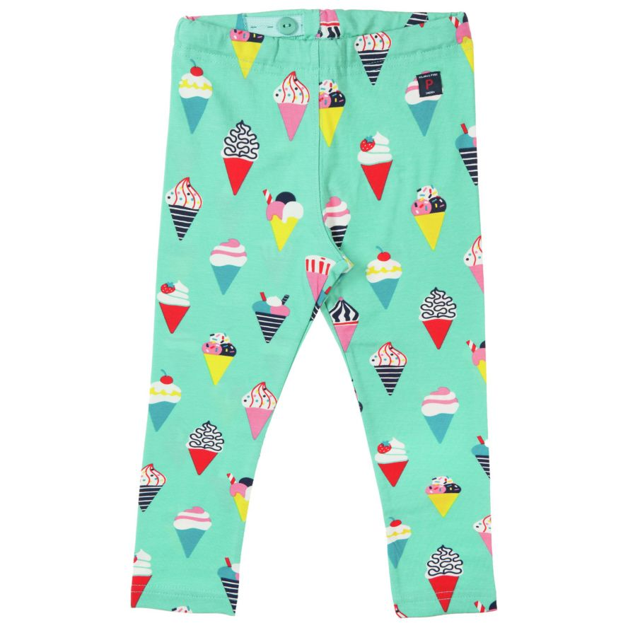 Baby girl`s lollipop leggings