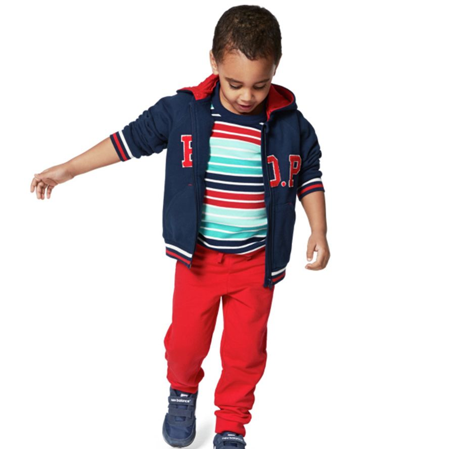 Kid`s stripe organic t-shirt