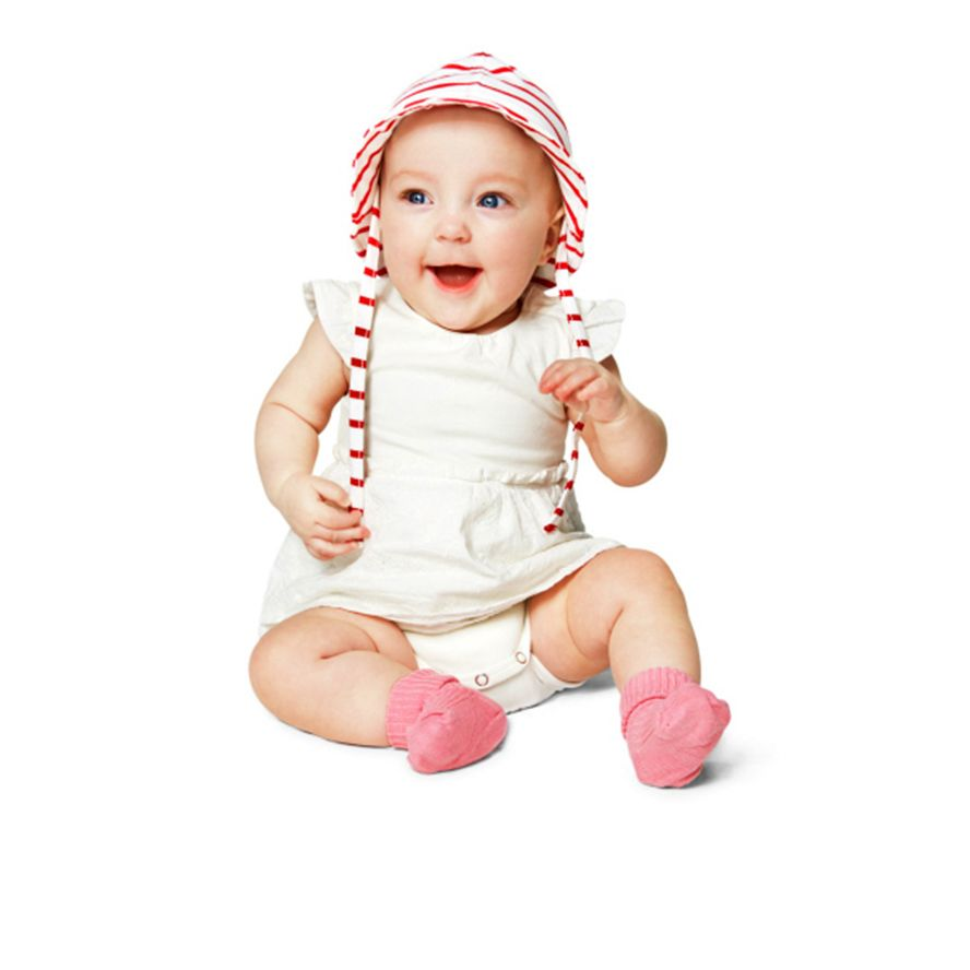 Baby girls broderie anglaise playsuit