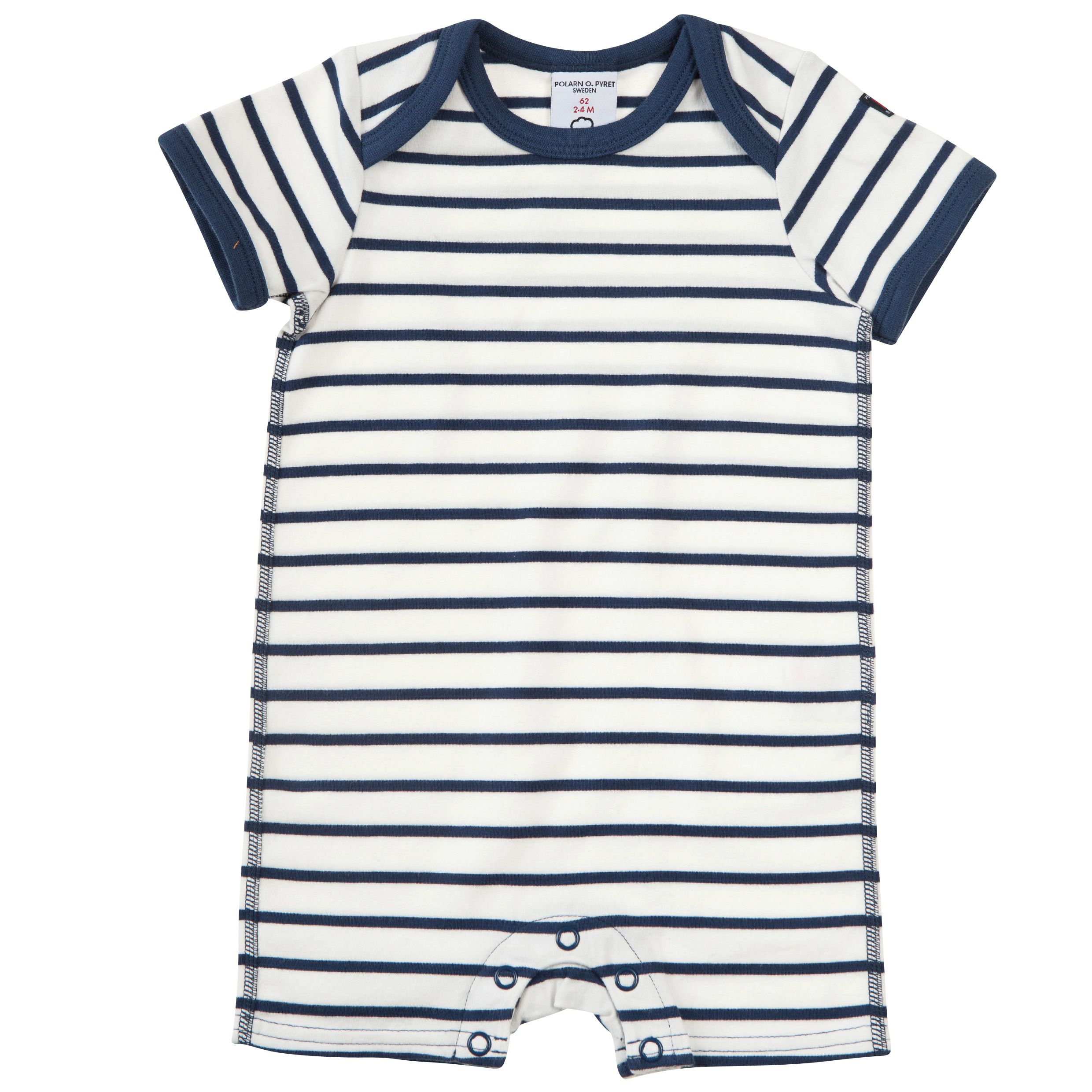 Babys stripe short all in one