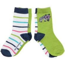 Babys 2 pack of animal socks