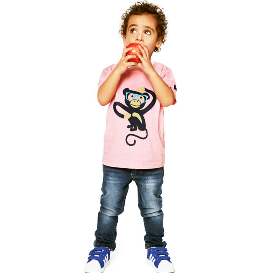 Kids safari animal t-shirt