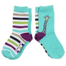 Kids 2 pack of animal socks