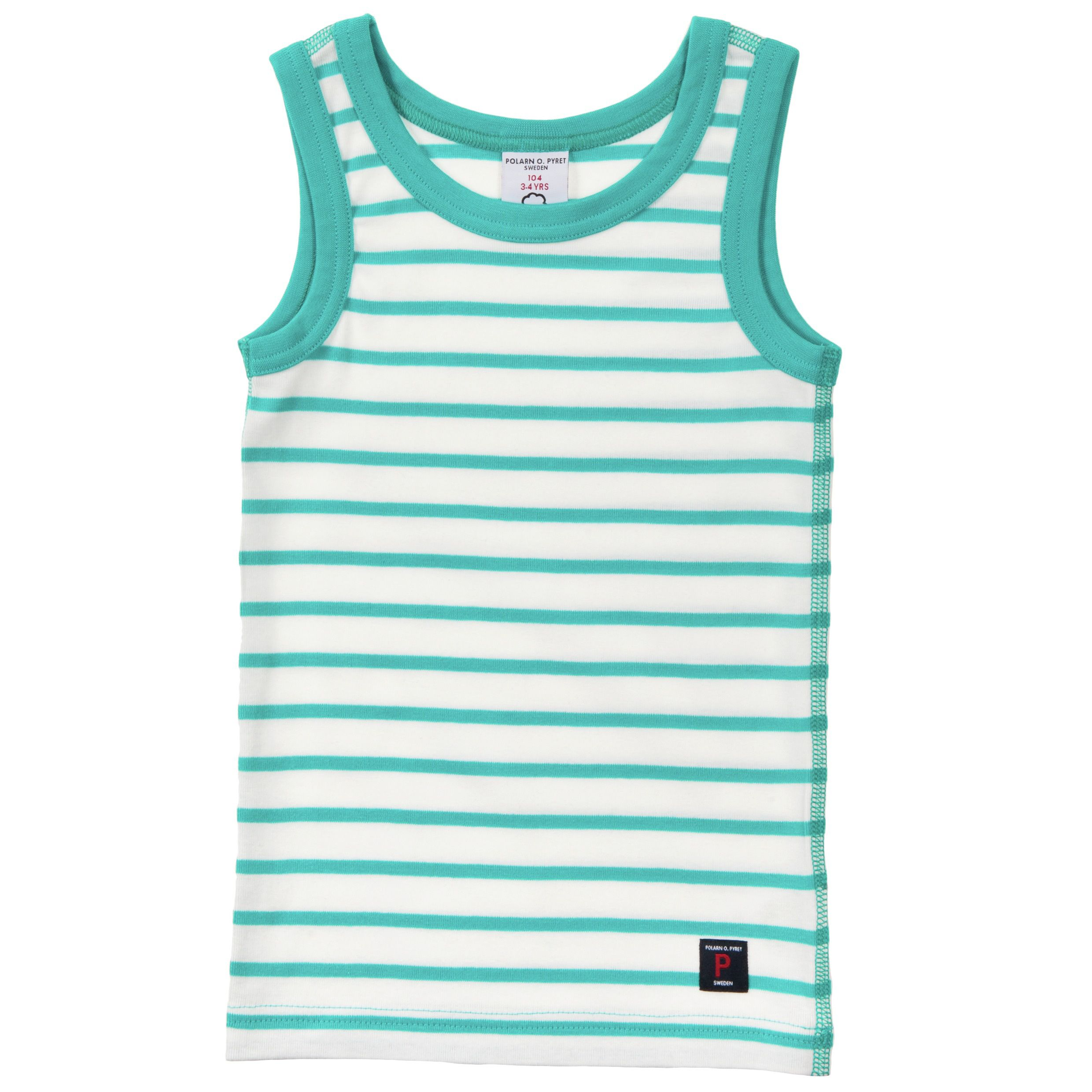 Kids stripe vest top