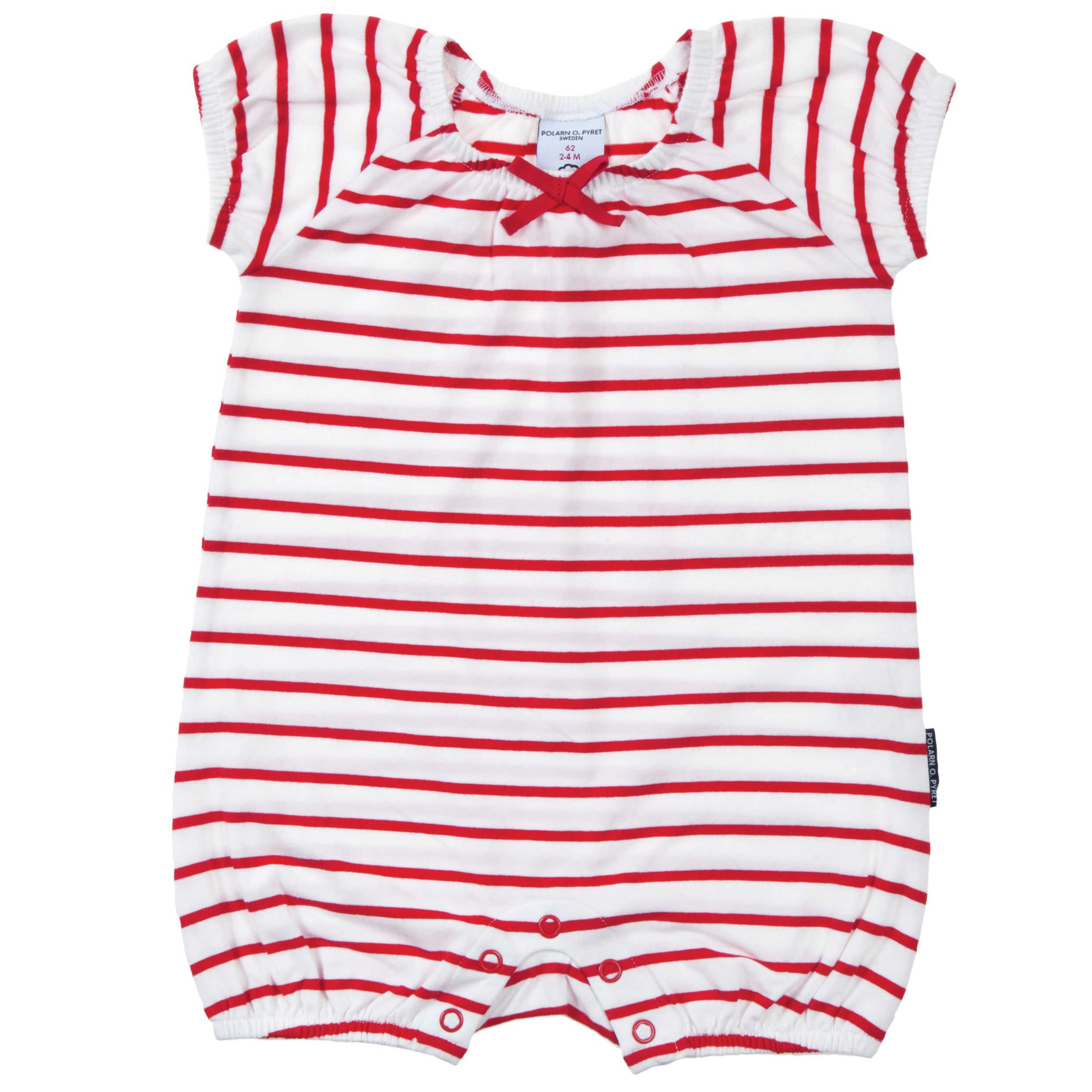 Baby girls stripe all in one