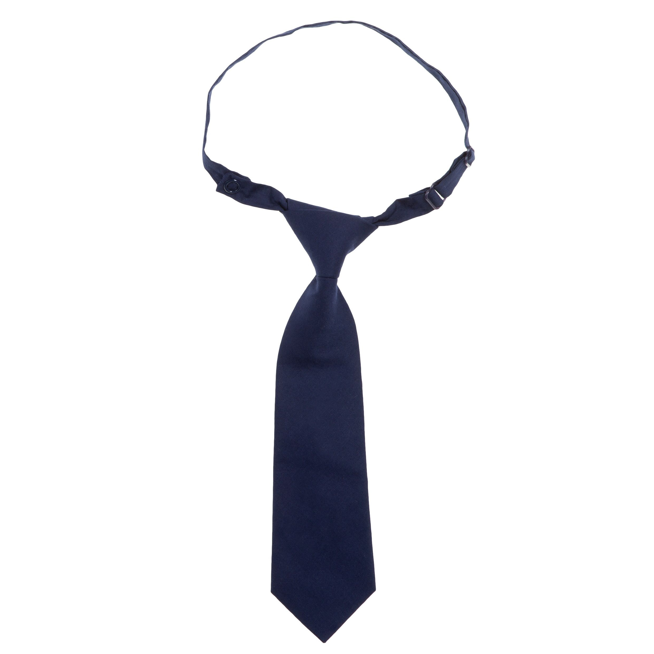 Kids smart blue tie