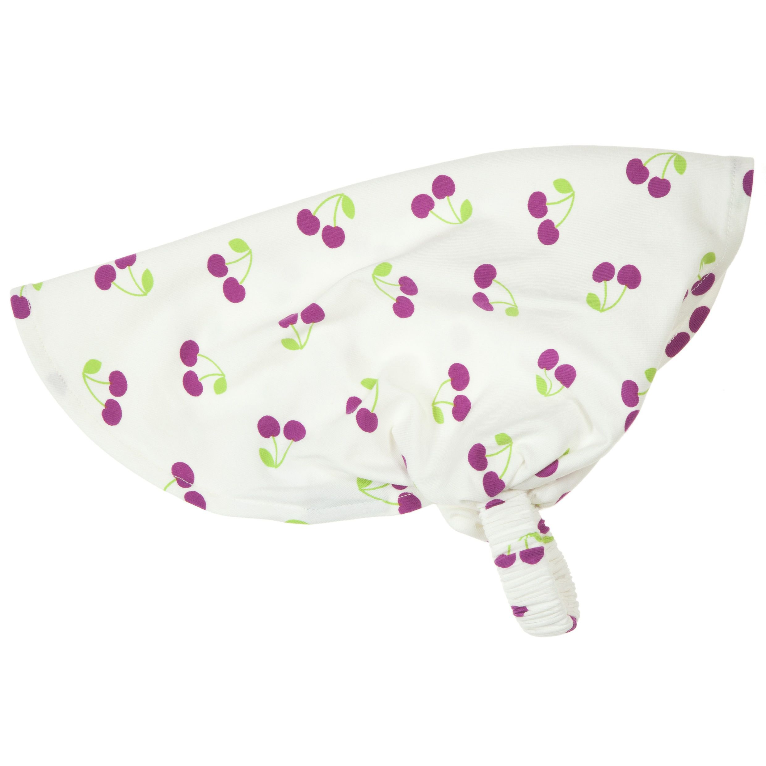 Baby girls cherry print head scarf
