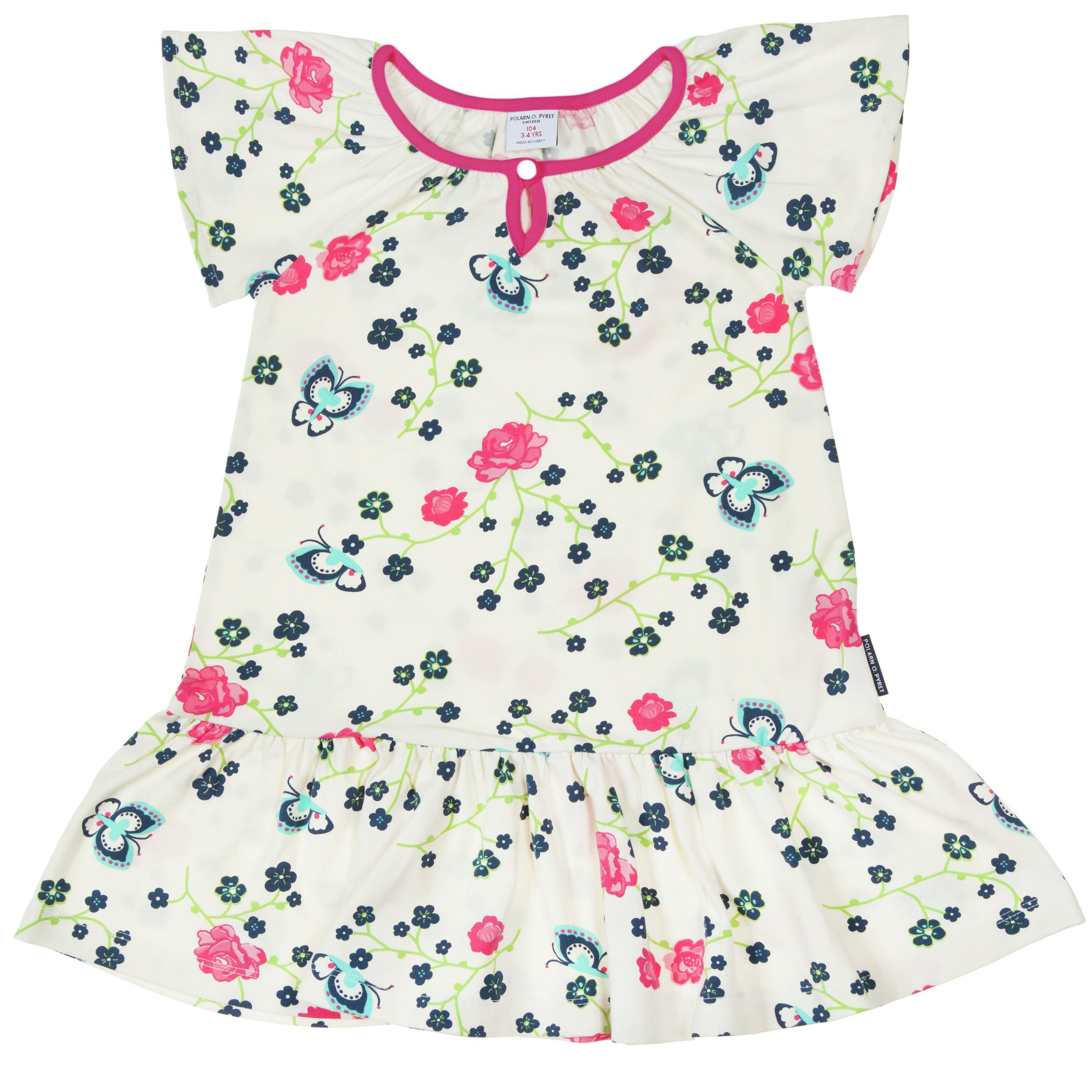 Girls summer flower dress