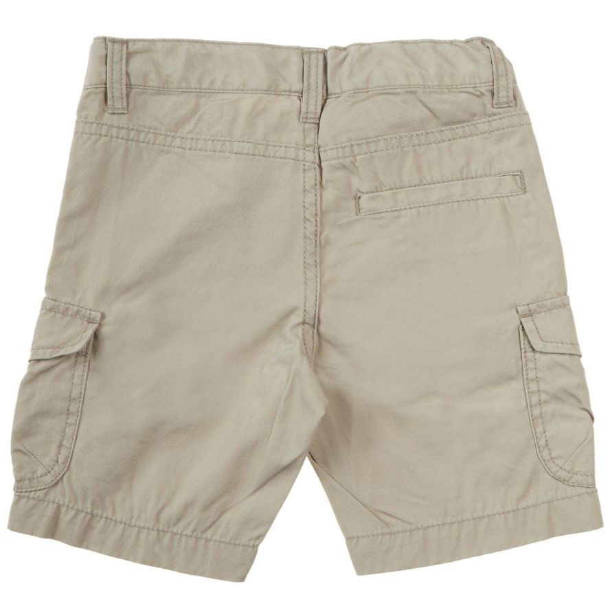 Kids knee length cargo shorts