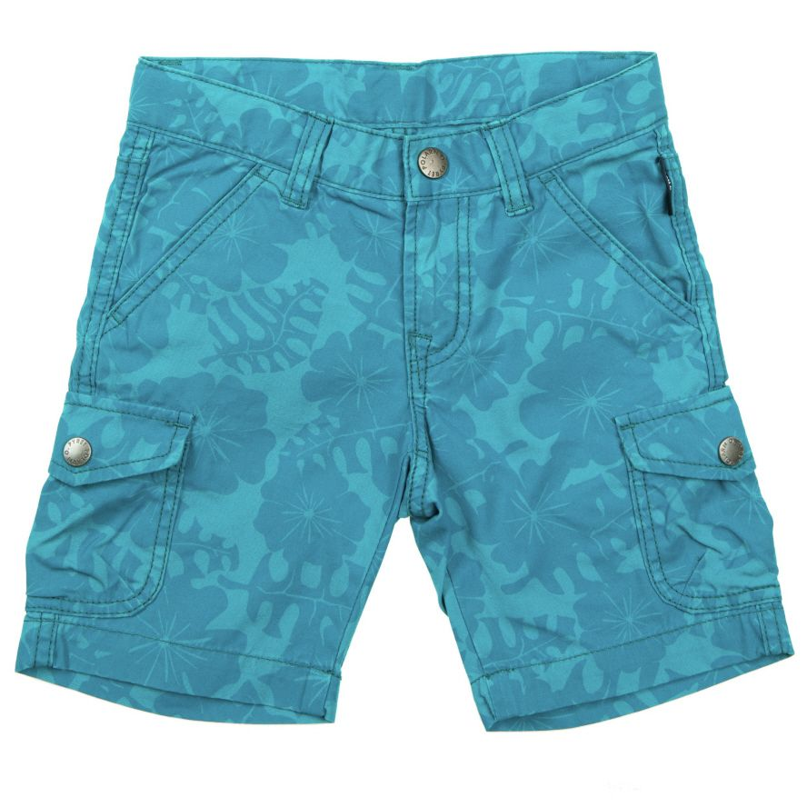 Boys knee length cargo shorts
