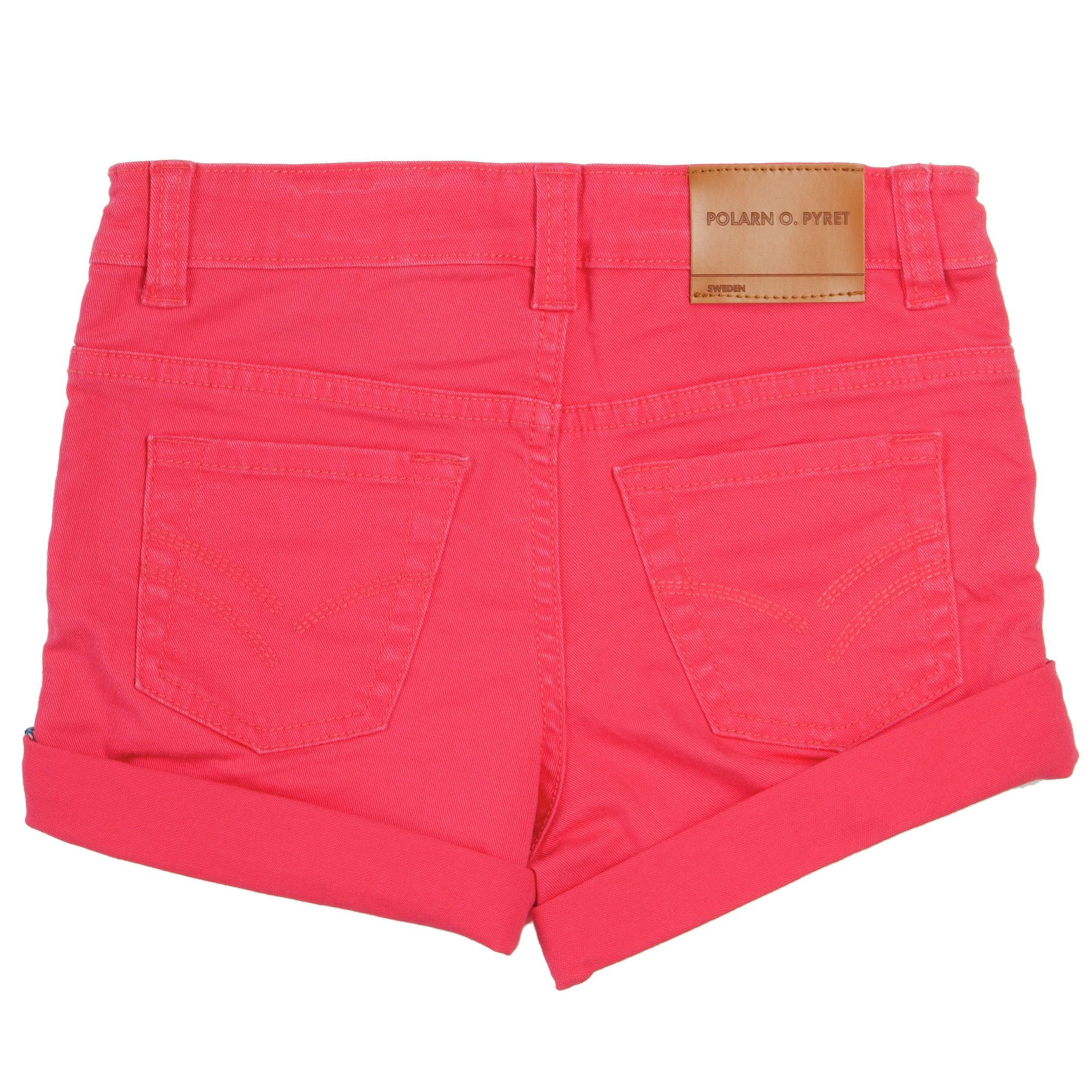 Girls 5 pocket pink shorts