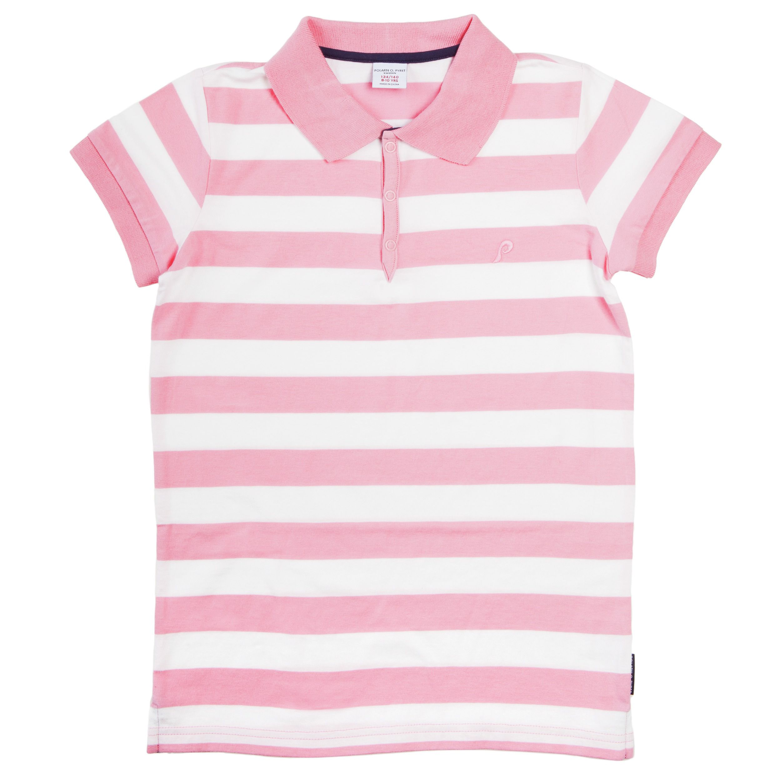 Girls striped polo shirt