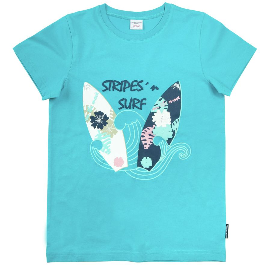 Kids surf print t-shirt
