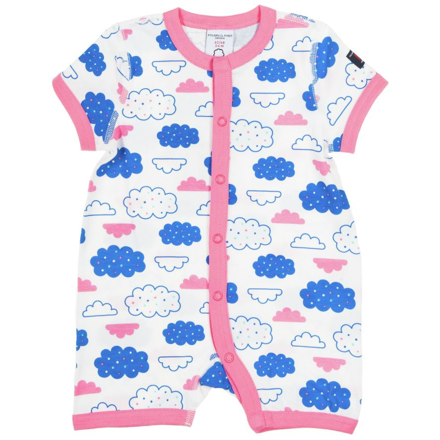 Girl`s all-in-one pyjamas