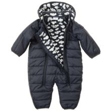 Babys quilted all-in-one