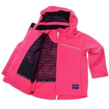 Baby girls wind and waterproof coat