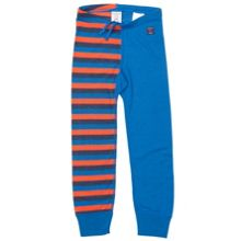 Babys striped thermal long johns