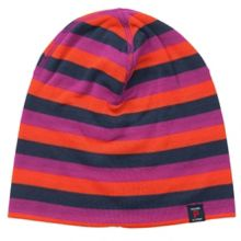 Kids stripy beanie hat