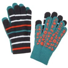 Kids twin pack of gloves