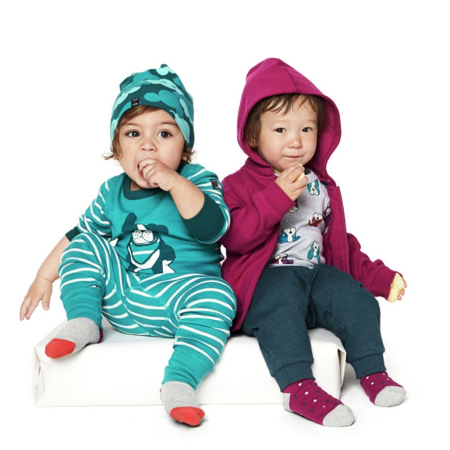 Kids Cloud print beanie