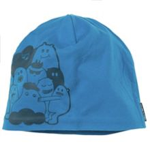 Kids monster motif beanie