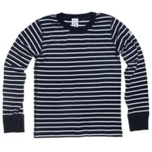 Kids PO.P stripe top