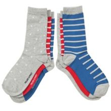 Kids 3 pack stars and stripes socks