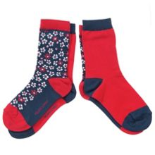 Babys 2 pack of floral socks