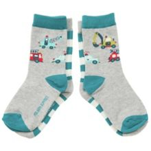Kids two pack motor vehicle socks