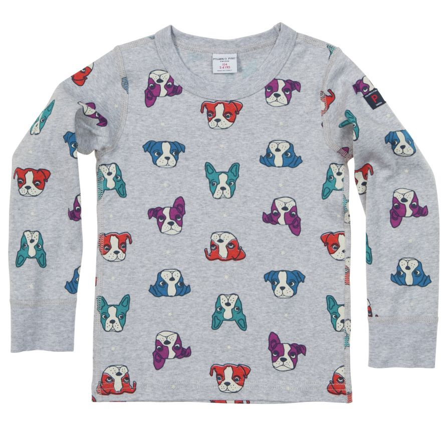 Kids dog print top