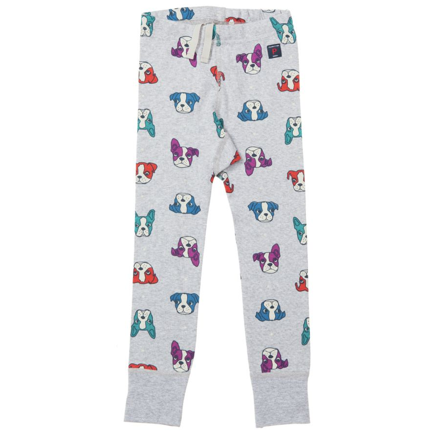 Kids dog print leggings