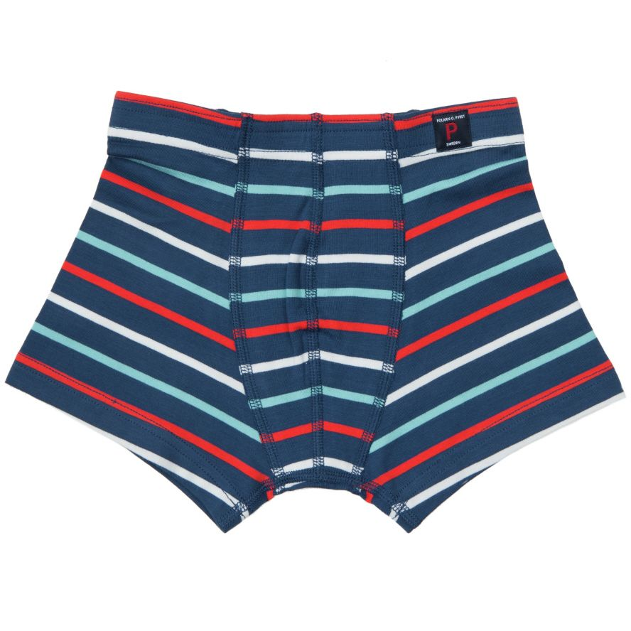Boys po.p stripe boxer shorts