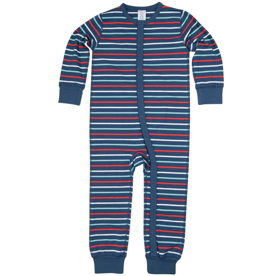 Babys planets print all-in-one pyjamas
