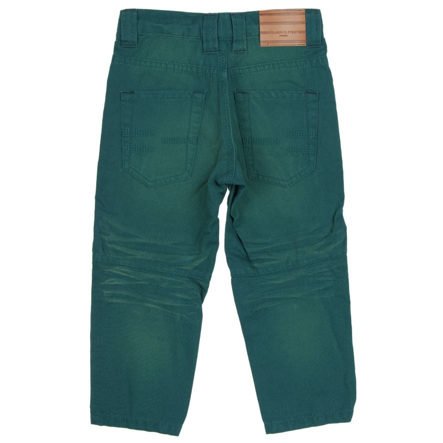 Boys washed denim trousers