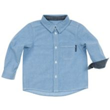 Baby boys denim blue shirt