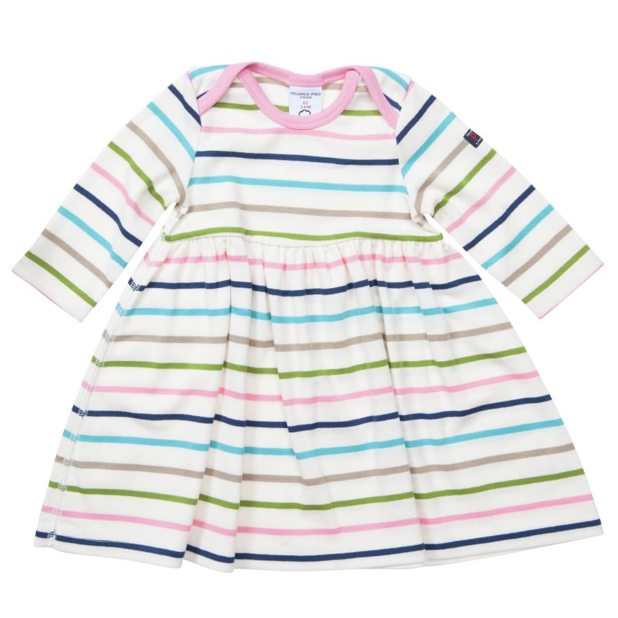 Babys po.p stripe dress