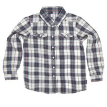 Boys checked shirt